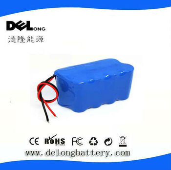 14.8V 8Ah rechargeable18650 li-ion battery pack with pcb