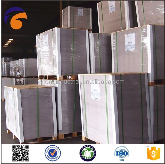 paper-Fuyang- Paper Mill Directly Sales Clay Coated Duplex Board Grey Back