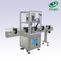 Automatic glass jar conveying capping machine