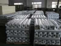 oil and steam transportaiton heat insulation aluminum foil fibre glass cloth