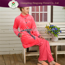 Direct factory machine made loose woman breathable sleepwear wholesalers