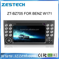 ZESTECH Factory OEM car dvd player for Benz SLK W171 Compatible with DVD/VCD/CD/CD-R/MP3/MPEG4//WMA/JPEG