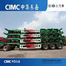 CIMC 3 axle low price shipping container 40 ft