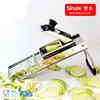 pure S/S home use vegetable spiral slicer made in China