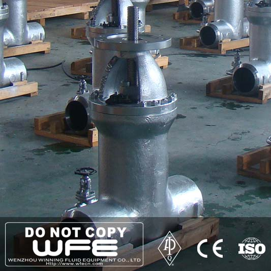 Stem Made In China Oem Knife Stainless Steel Long Gate Valve