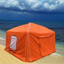 single person inflatable camping tent family air shelter for travel