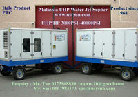 Water Jet High Pressure Pump 20000psi~40000psi Supplier Malaysia