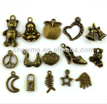 nickel free lead free metal alloy jewelry findings, unique bronze jewelry findings