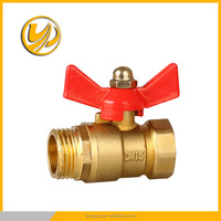brass ball valve with nipple brass ball valve with lock water meter