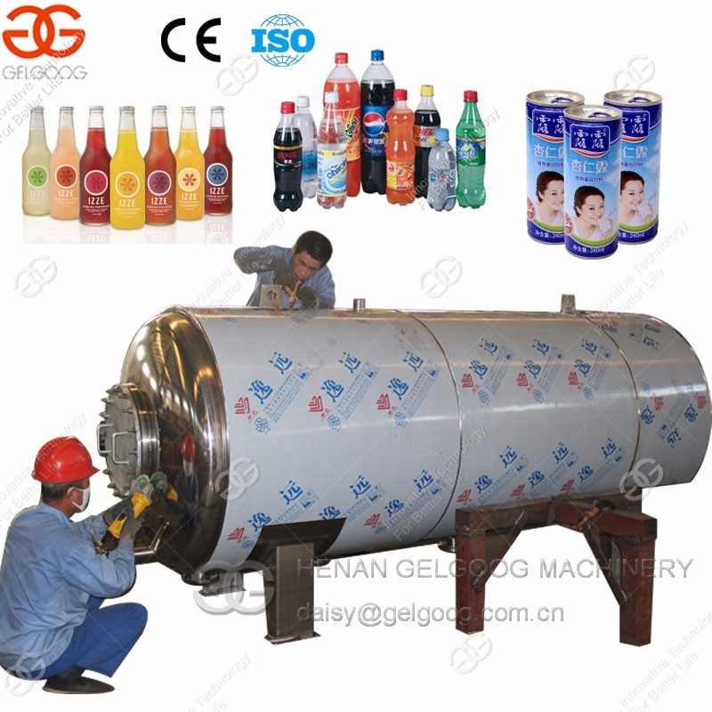 Glass bottle sterilization machine Autoclave sterilizer with quality