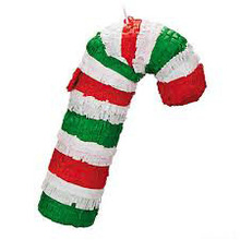 2014 candy cane paper pinata craft christmas decorations