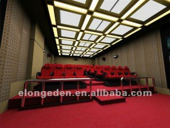 Layout of 48 people 5D Cinema 5D Theater