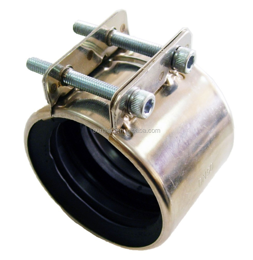 Stainless steel High pressure Type CHA pipe coupling with EPDM rubber inside