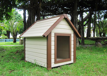 wood plastic composite dog house/WPC Dog house high quality