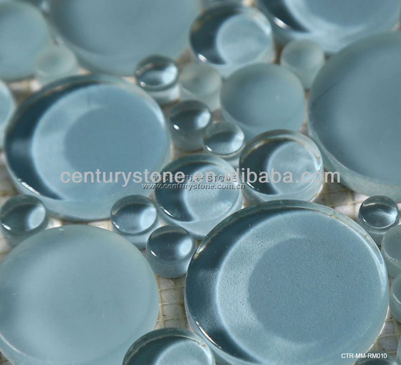 Glass Sea Blue Premium Mosaics Style Selection Tile for Walls