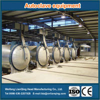 Special autoclave for aerated brick concrete block