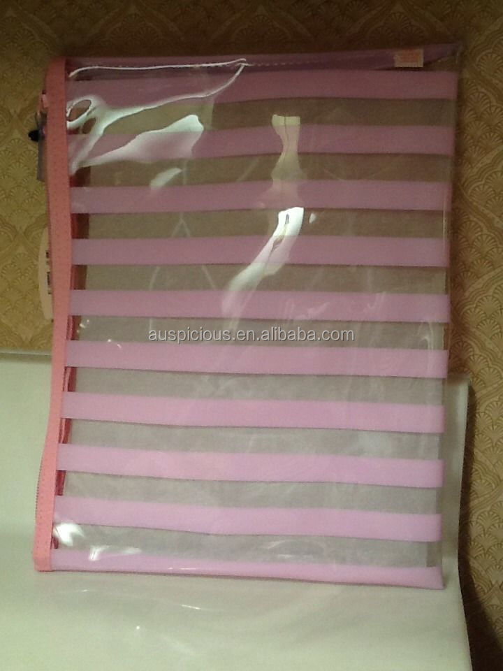 2014 High quality bikini/swimsuit pvc clear vinyl zip bag