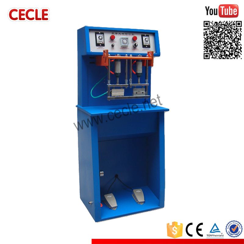 TS-80 semi automatic aluminum tube sealing machine
