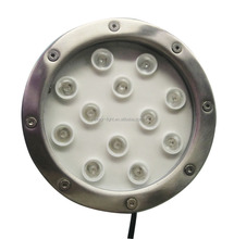 STAINLESS STEEL HOUSING LED UNDERWATER FOUNTAIN LIGHT <strong>RGB</strong> COLOR 12V DC