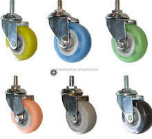 Free sample swivel caster wheel in high quality from experienced factory TPR/PU/NYLON
