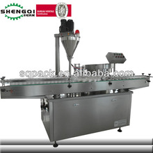 Shengqi Brand Automatic Baby Prickly Heat Powder Refilling and Capping Machine