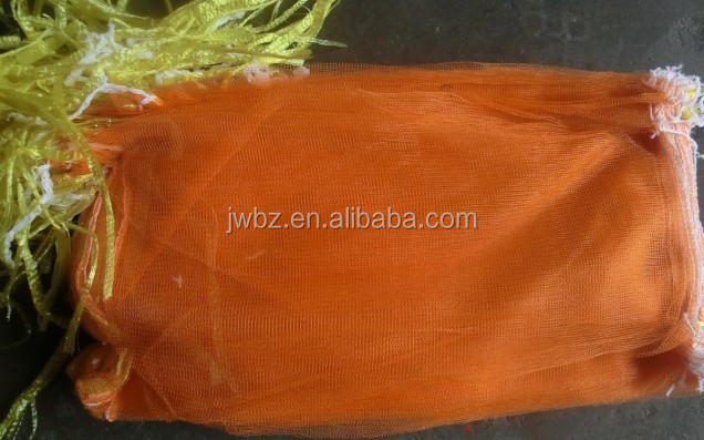 bright color net potato onion mesh package pe garlic mesh bags