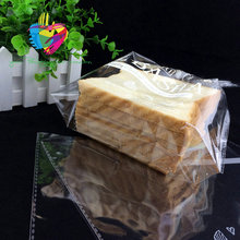 Disposable good quality hot sales plastic bakery opp bag