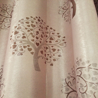 best quality luxious jacquard curtain for lady