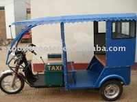 48V Electric auto passenger 3 wheeler rickshaw india market