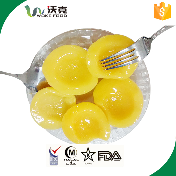 Hot Sale Canned Yellow Peach In Light Syrup