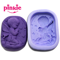 Z022 Baby shaped soap molds silicone food grade silicone