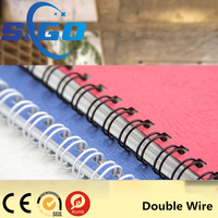 SIGO Office & School Supplies pre-cut double loop binding wire o ring