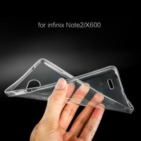 Factory wholesale soft color tpu cell phone case for infinix note 2 x600