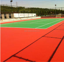 all-weather tennis court coating materials