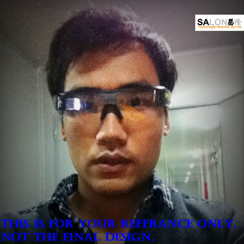 New 2015 hot sale product smart glasses , Android4.3 and Android Wear support English, Chinese and multi Language
