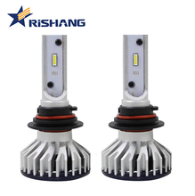 OEM factory wholesale H11 40W 8000 lumens led car headlight bulb lumileds souel CSP chips H11 H8 H16 auto light lamp with canbus