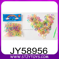 2015 glow in the dark loom bands DIY colorful loom rubber bands for child