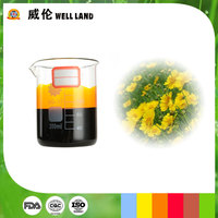 Oil soluble herbal extract chrysanthemum yellow colorant