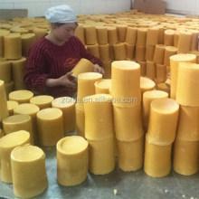 pure refined yellow beeswax (for church candles,medicine)