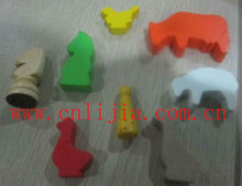 animal custom wooden game pieces