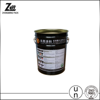 25kg 25l Paint Plastic Buckets, PP Pail for Chemicals, Plastic Packaging Barrel with Handle