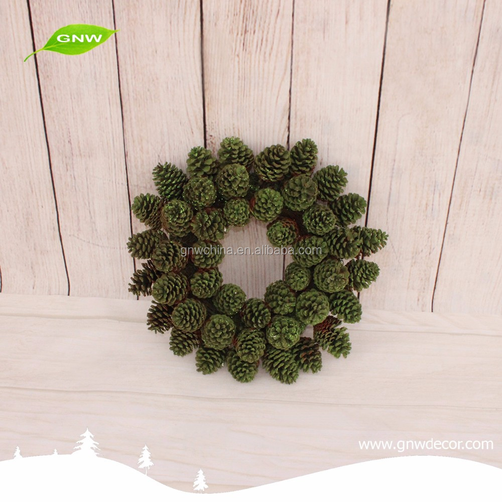 GNW CHWR-1605053 Natural custom cheap Christmas wreath for indoor decoration