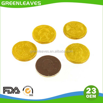 aluminum foil for chocolate coin packing or wrapping
