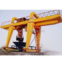 10 tons Double girder grab door crane