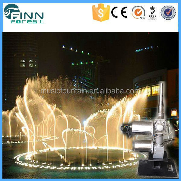 2017 garden decoration dancing water fountain with low price