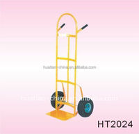 strong hand trolley with pb-free and UV resistant powder coating surface,Powerful stell hand truck