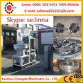Automatic lubricate system ring die pellet mill for making wood pellets