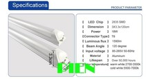 20 Watt 4-foot T8 T10 T12 LED Tube Light 45W Fluorescent Tube Replacement