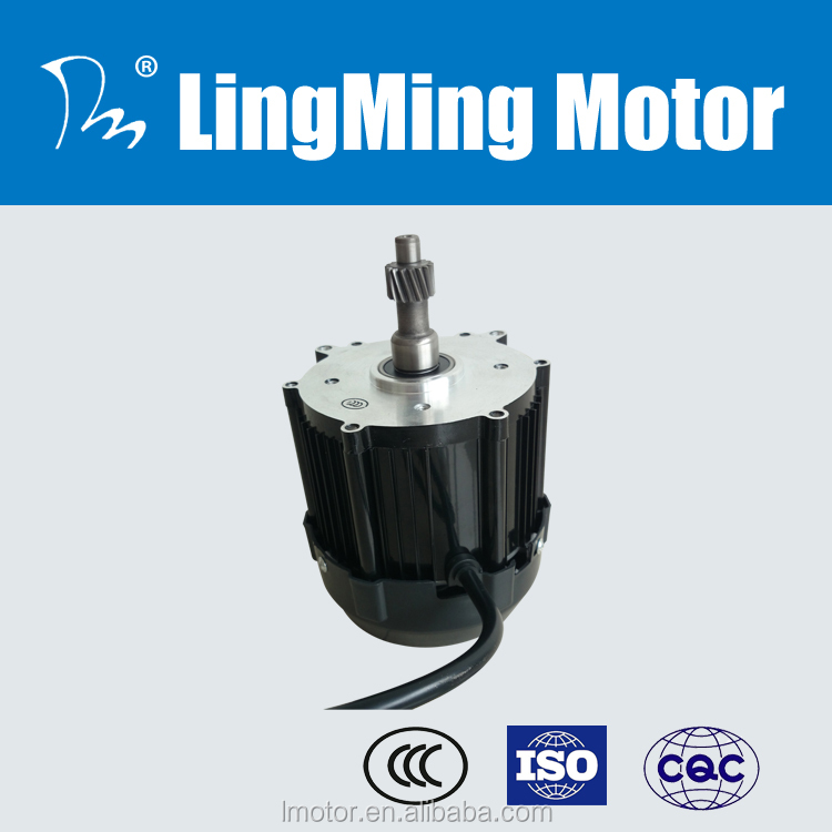 Indian 60v richshaw cargo passenger gear dc motor