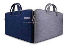 "Customize Hot selling Denim Computer Messenger Pouch Tote Case 15.4"" 15.6"" Laptop Shoulder Bag For HP"